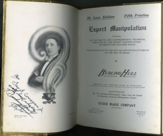 Expert Manipulation: Including an Accurate and Comprehensive Technical Treatise on the Expert Manipulation of Miniature Billiard Balls