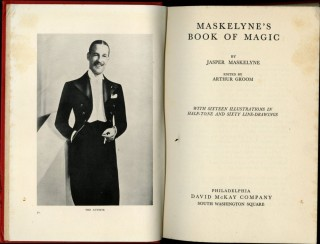 Maskelyne's Book of Magic.