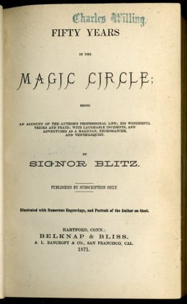 Fifty Years in the Magic Circle