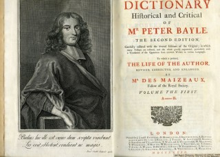 The Dictionary Historical and Critical of Mr. Peter Bayle. Bayle Peter.