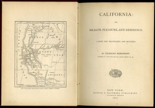 California: for Health, Pleasure, and Residence