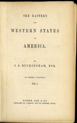 The Eastern and Western States of America