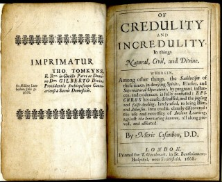 Of Credulity and Incredulity, in Things Natural, Civil, and Divine
