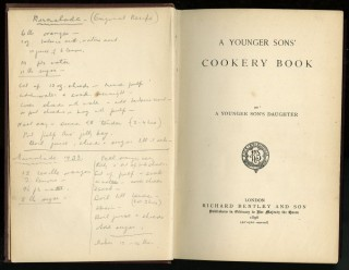 A Younger Sons' Cookery Book