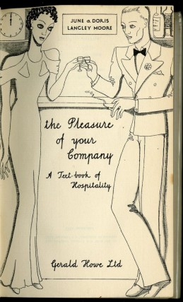 The Pleasure of Your Company: A Text-book of Hospitality