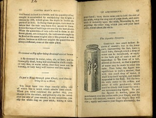 The Young Man's Book of Amusement. Containing the Most Interesting and Instructive Experiments in Various Branches of Science. To Which is Added the Popular Tricks and Changes in Cards; and the Art of Making Fire Works