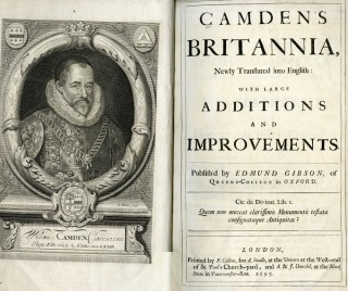Camden's Britannia, Newly Translated into English: with large additions and improvements. Translated by Edmund Gibson.