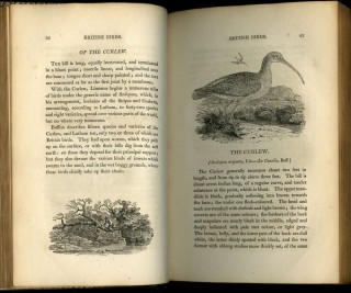 A History of British Birds [with] A General History of Quadrupeds