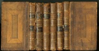 The Works of Mr. Edmund Spenser in Six Volumes. With a Glossary Explaining the Old and Obscure Words. Spenser Edmund.