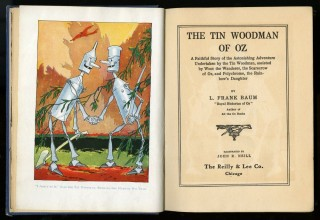 The Tin Woodman of Oz. Thompson Ruth Plumly.