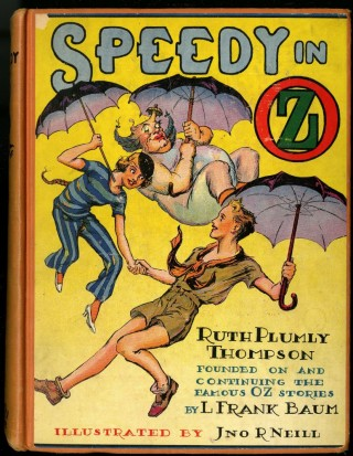 Speedy in Oz. Thompson Ruth Plumly.