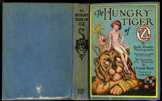 The Hungry Tiger of Oz. Thompson Ruth Plumly.