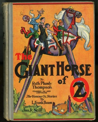 The Giant Horse of Oz. Thompson Ruth Plumly.