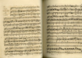 Sixteen 19th Century Engraved Musical Scores