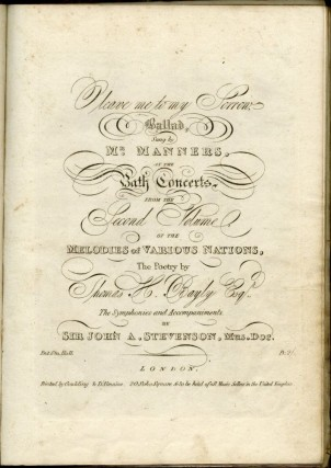 Twenty-Seven 19th Century Engraved Musical Scores