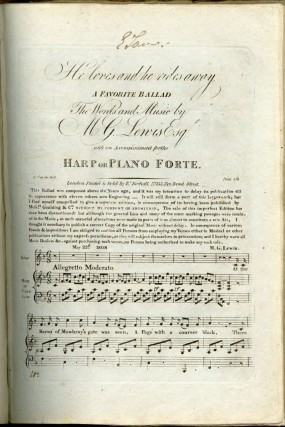 Bound Collection of Late 18th and Early 19th Century Engraved Musical Scores
