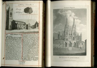 Architectural Commonplace Books, late 18th - early 19th century (6 Volumes)
