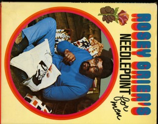 Rosey Grier's Needlepoint For Men. Grier Rosey
