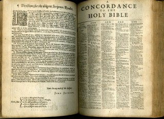 The Holy Bible [Preaching Bible] [with] The New Testament, Book of Common Prayer and Concordance