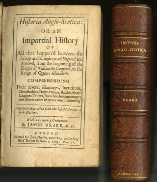 Historia Anglo-Scotica: or an Impartial History of All that Happen'd Between the Kingdoms of England and Scotland...
