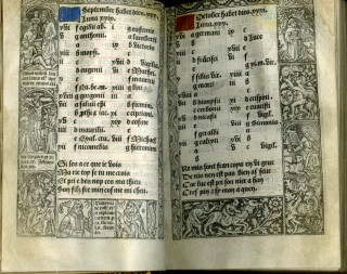 Printed Book of Hours, Usage of Rome, dated October 22, 1500