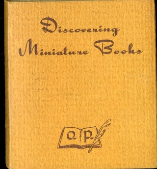 Discovering Miniature Books