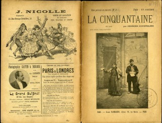 La Cinquantaine. Courteline Georges