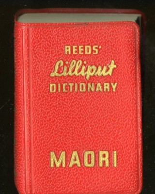 Lilliput Maori Dictionary. anon.