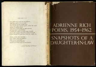 Snapshots of a Daughter-in-Law: Poems, 1954-1962. Rich Adrienne.