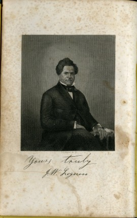 The Rev. J.W. Loguen as a Slave and as a Freeman: A Narrative of a Real Life