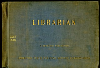 Librarian: preparatory tests for library civil service examinations. Pergande Publishing.