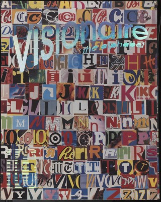 Visionaire 10: Winter 1993-94, Alphabet. various.