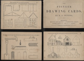 The Pioneer Drawing Cards. Nutting Benjamin Franklin.