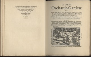 A New Orchard & Garden: or The Best Way for Planting...