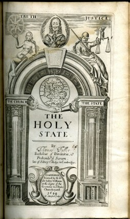 The Historie of the Holy Warre [with] The Holy State
