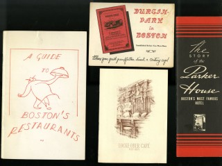 Boston Restaurants, Locke Ober, Parker House, Durgin Park