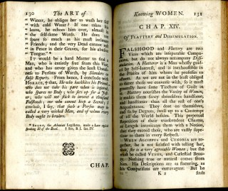 The Art of Knowing Women: or, the Female Sex Dissected, in a Faithful Representation of their Virtues and Vices...