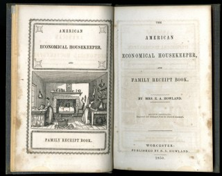 The American Economical Housekeeper and Family Receipt Book