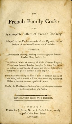The French Family Cook