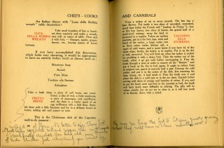 Chefs-Cooks and Cannibals and their Various Methods of Cooking