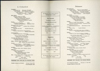 Archive of Mid Century Cruise Ship Menus