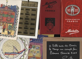 Archive of items relating to Paul Bocuse and his restaurants. Bocuse Paul