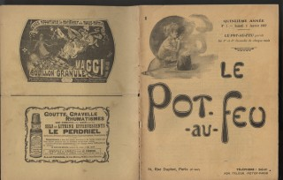 Le Pot-au-Feu collection of loose issues [45 issues, 1895-1914