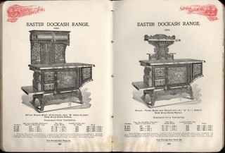 Scranton Stove Works Catalogue of Dockash Ranges, Cook Stoves, Parlor Stoves, Heating Stoves