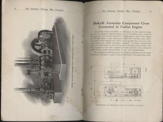 Refrigerating and Ice Making Machinery: The DeKalb Ice Making and Refrigerating Machine Catalog no. 724
