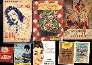 Collection of promotional cookbooks and advertising ephemera